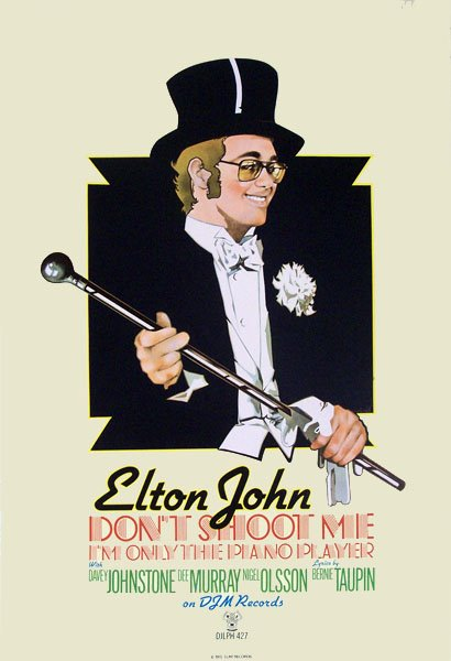 Don't Shoot Me - Elton John