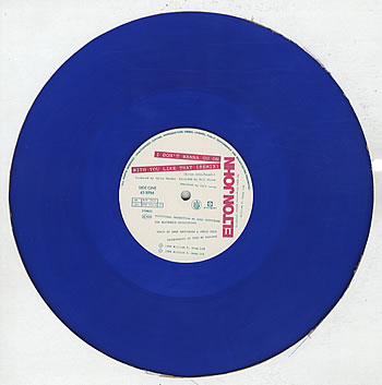 I Don't Wanna Go On With You Like That - blue vinyl